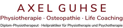 Axel Guhse · Physiotherapie · Osteopathie · Life Coaching · Buchholz in der Nordheide